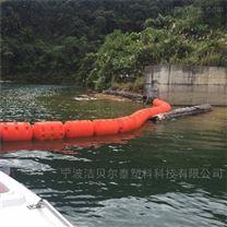 河道拦渣浮排滚塑加工浮筒