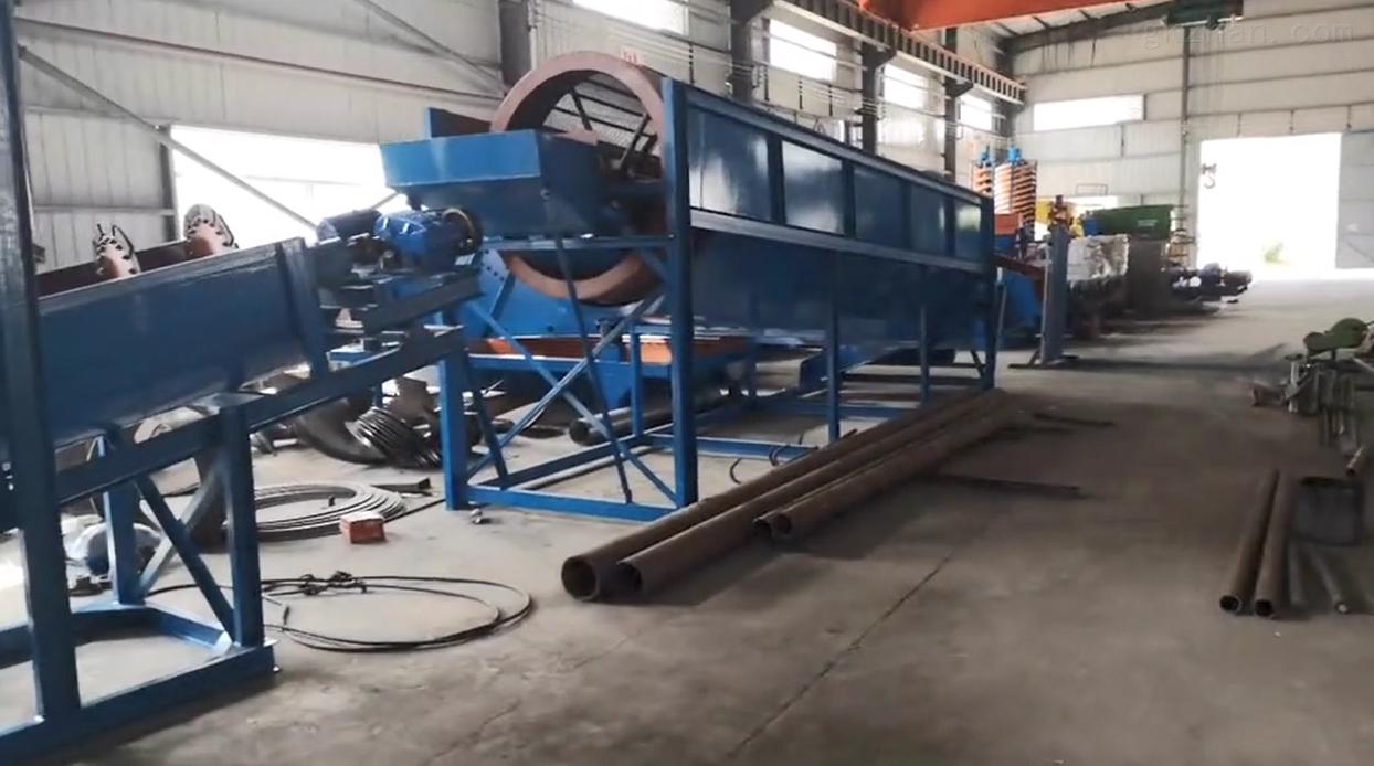 格林机械各种洗砂机配套设备详细讲解