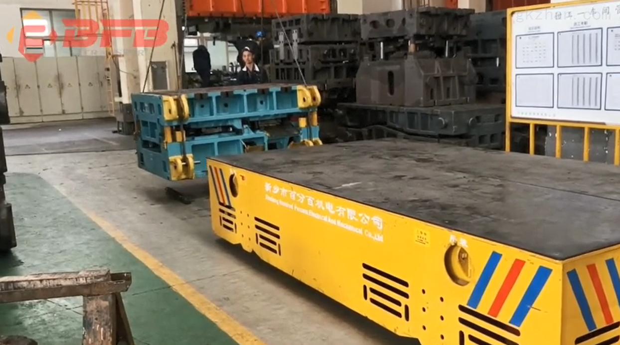 RGV智能运输轨道平车