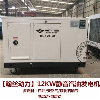 ATS自启动12KW汽油发电机