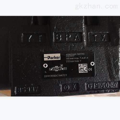 PARKER电磁换向阀,D41VW001C4NJW