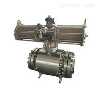 QJDRG型精小型氣動高壓O型球閥