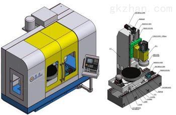 ZNM7475精密数控立式圆台磨床