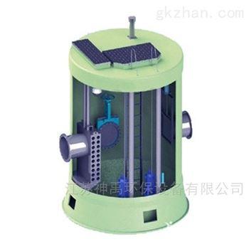 液压启闭太阳能截流井雨污分流设备