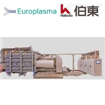 Europlasma 卷绕式等离子涂层设备