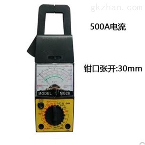 钳形电流表 仪表