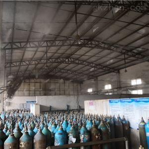 PC-300PJ仓库喷雾降温工程