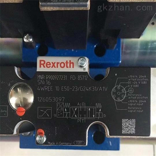 驱动技术一览REXROTH力士乐比例方向阀