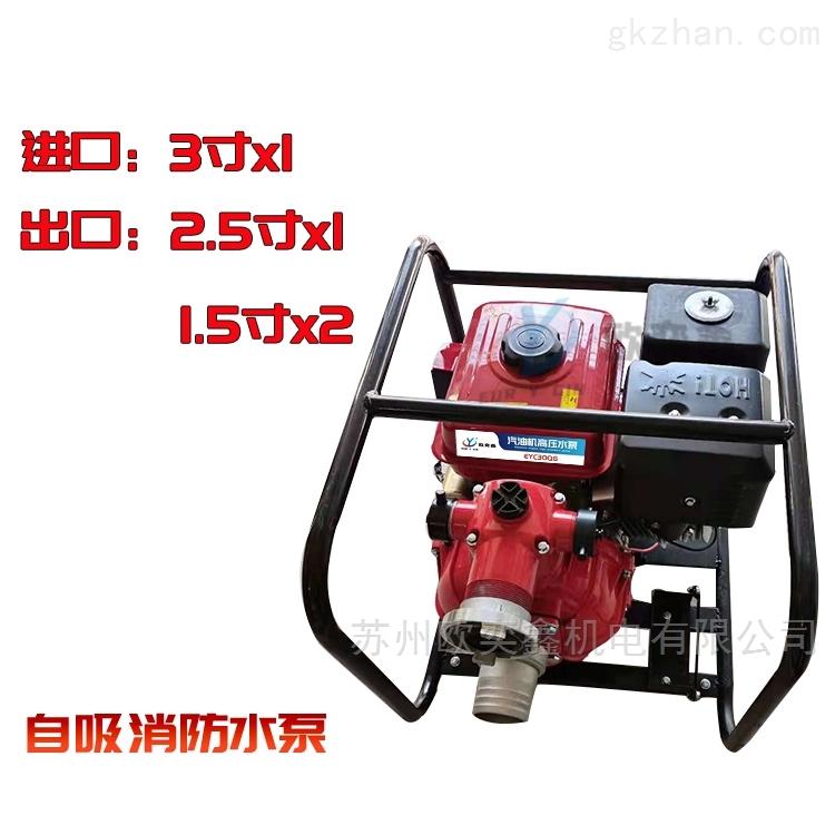 EYC30QG汽油消防水泵