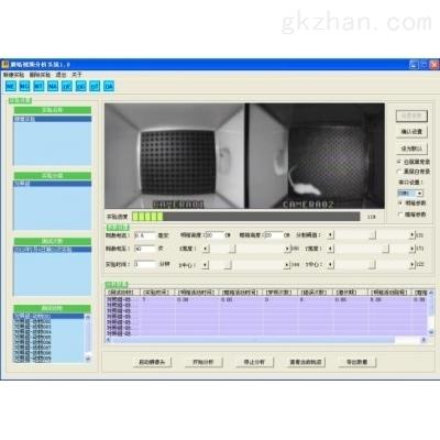 避暗实验视频分析系统、大鼠避暗箱