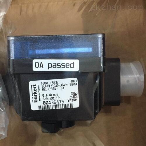 低电功率消耗BURKERT宝德电机控制比例阀