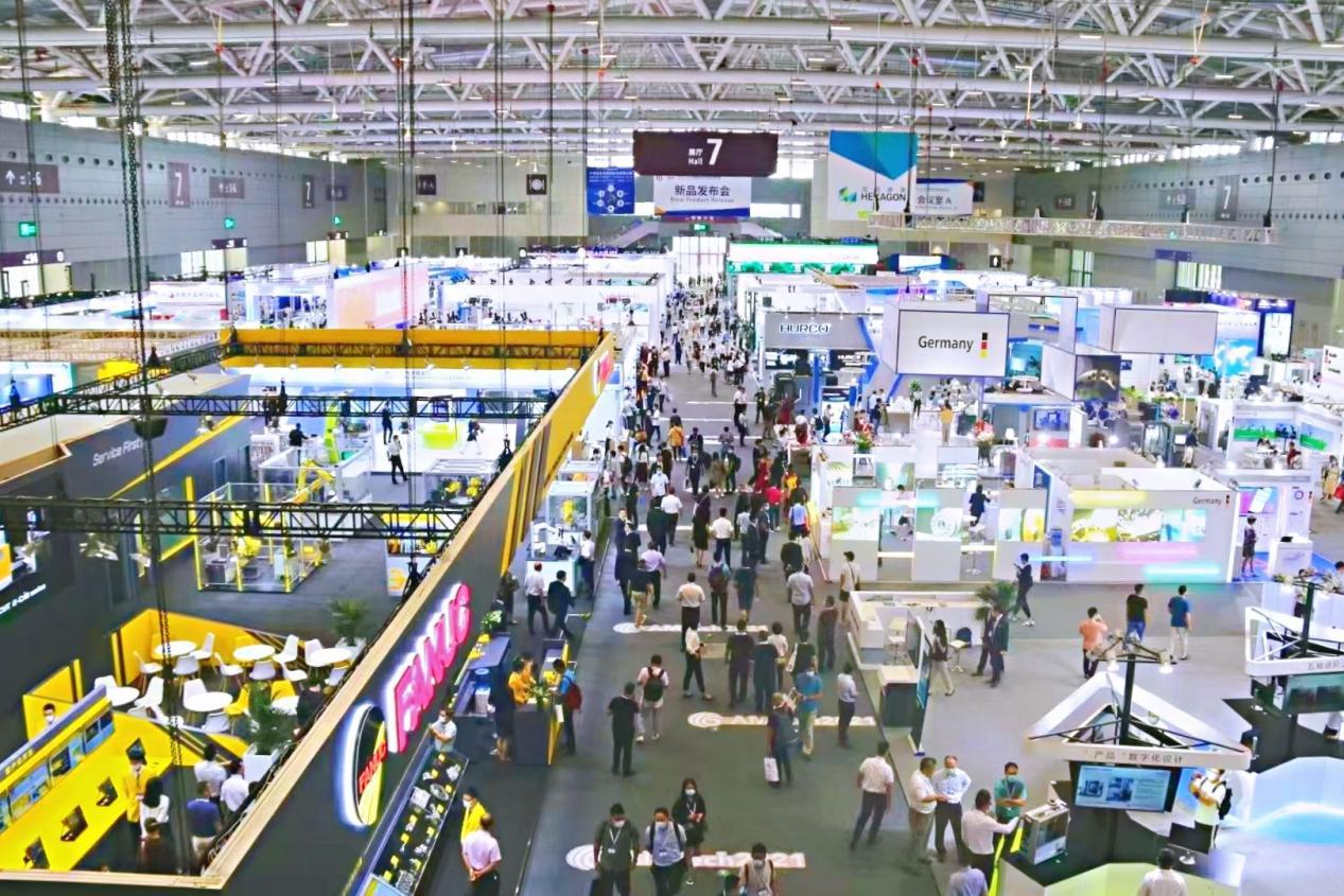 AMTech & AMC 2021中国国际先进制造技术展览会暨世界先进制造业大会盛大开幕