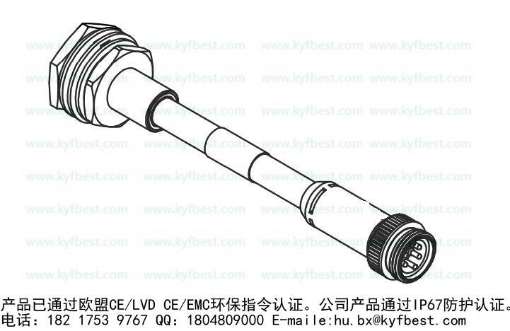 Co-fly兼容替代型号:KYF78K5Z-M30*1.5L1MDeviceNet-KYF78J5ZT