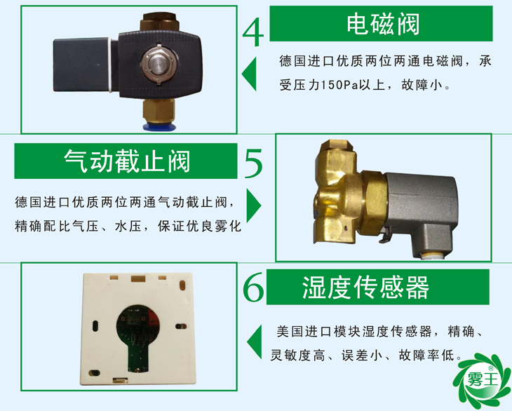 QS1气水加湿器特点2